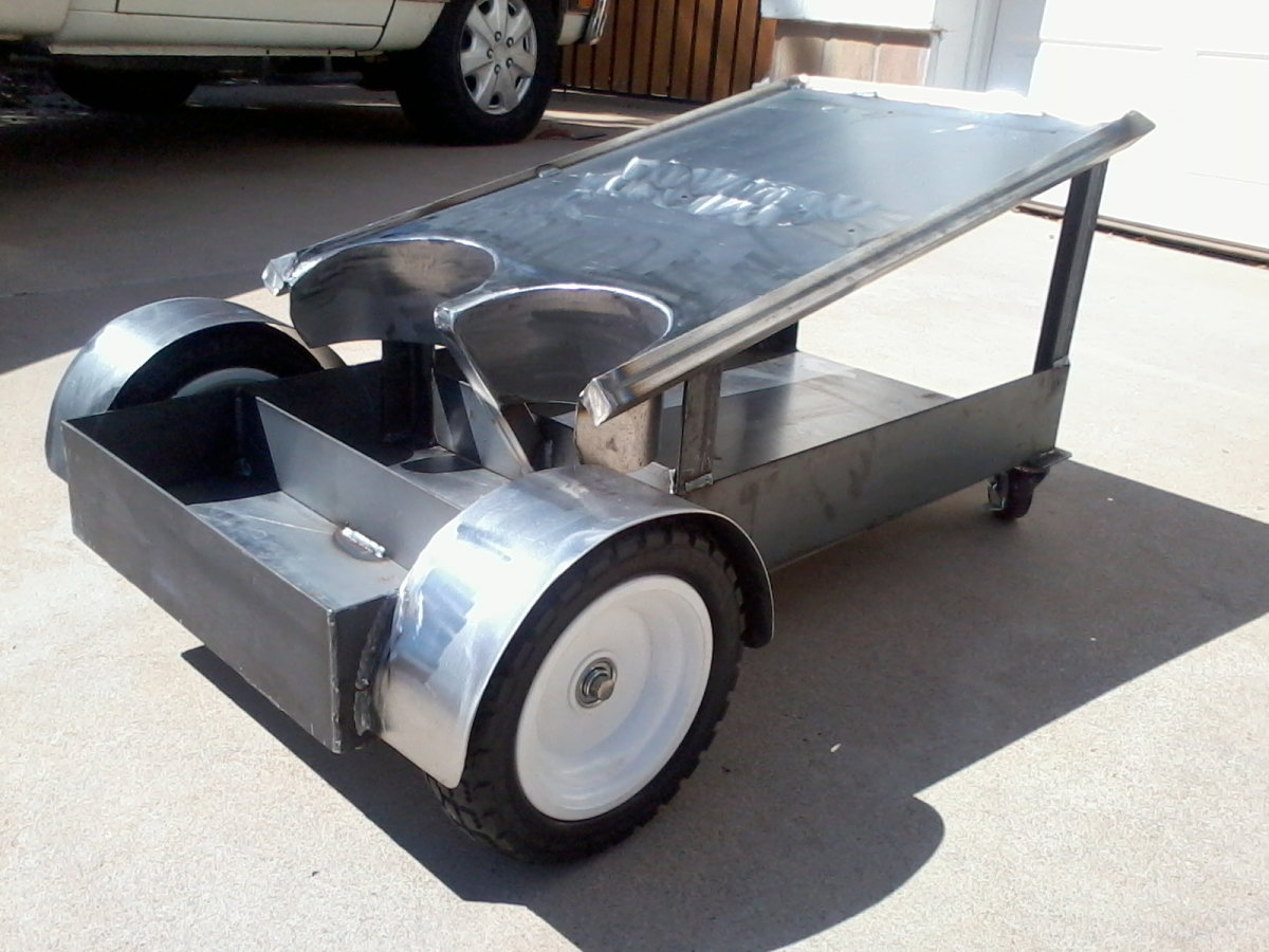Diy Welding Cart Table Car Interior Design