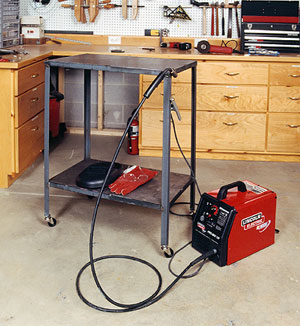 My First Welding Project Small Welding Table Welding
