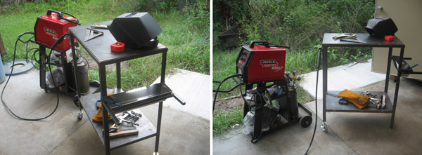 My First Welding Project – Small Welding Table – Welding ...